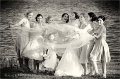 bridesmaid, the bride, kid