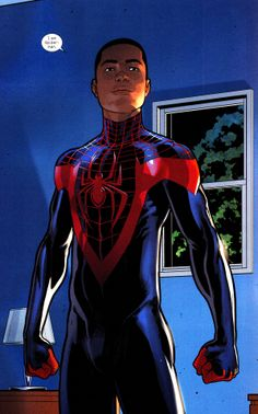 Miles Morales // Ultimate Spider-Man by Dave Marquez  (Ultimate Comics Spider-Man #28)