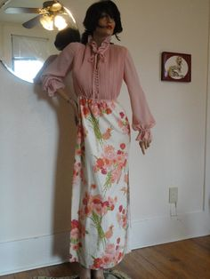 VTG 70's Jack Bryan Cocktails Anyone Pink  by DancingGypsyVintage, $39.99