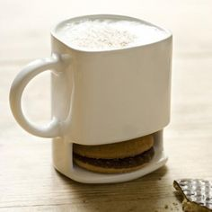 Mug with cookie storage = winner