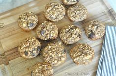 Protein Oatmeal Chocolate Chip Muffins