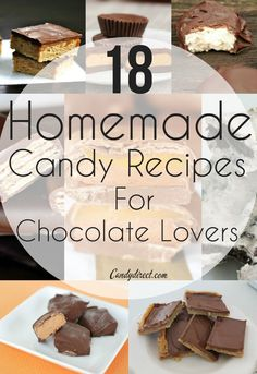 18 Homemade Candy Recipes for Chocolate Lovers | Candy Direct