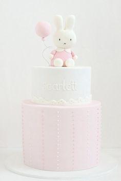 1st birthday girl cake