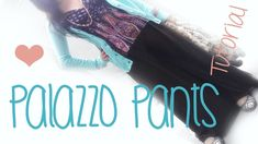 Best sharrara/palazzo pant tutorial I've found. Followed the instructions and my pants fit perfectly.