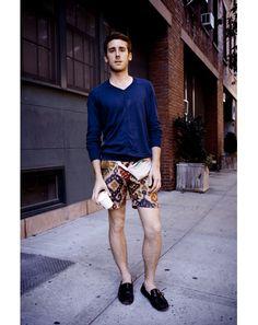 Cool shorts - fantastic pattern