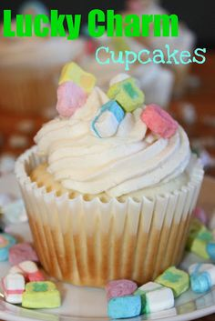 charm cupcak, cupcakes, charms, akm design, cupcake recipes, cereals, crusts, dessert, lucki charm