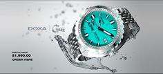 THE DOXA SUB1200T Project AWARE edition II