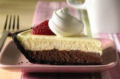 PHILADELPHIA 3-STEP Double-Chocolate Layer Cheesecake recipe