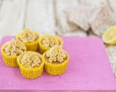Eric Lanlard's white chocolate and lemon cupcakes recipe