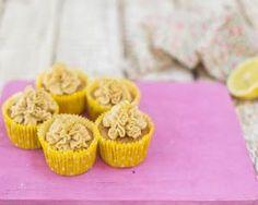 Eric Lanlard's white chocolate and lemon cupcakes recipe