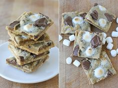 Smores cookies at Glorious Treats