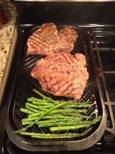 Delicious grilled T-boned steak