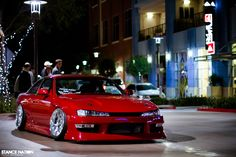 Serious Business- Stanced & Aggressively fitted Nissan 240SX S14... More after the break kids.