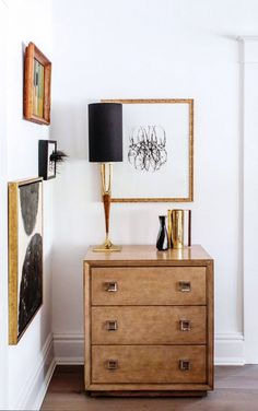 Decorating Ideas for Your Home's 5 Smallest Spaces// midecentury modern, brutalist, vignette design