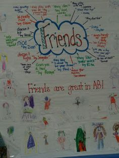 Teaching Kids to be Friends! (Interactive Writing)