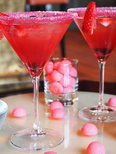 Pink Cocktail.