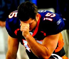 """""""It's not my job to see people's reasons behind it, but I know [of a kid] with cancer that tweeted me, 'Tebowing while I'm chemoing' — how cool is that?"""" Tebow said. """"That's worth it right now. If that gives him any encouragement or puts a smile on his face, or gives him encouragement to pray, that's completely awesome."""""""