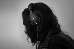 Marshall Monitor Headphones monitor black, marshal monitor, gadget, black headphon, marshalls, marshal headphon, design, monitor headphon, christmas gifts