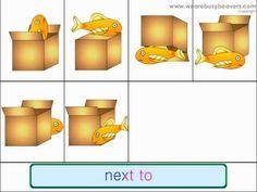 Positional Words: In On Under - Kids English Kindergarten Songs -