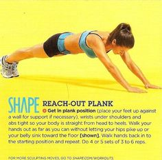 Reach-Out Plank