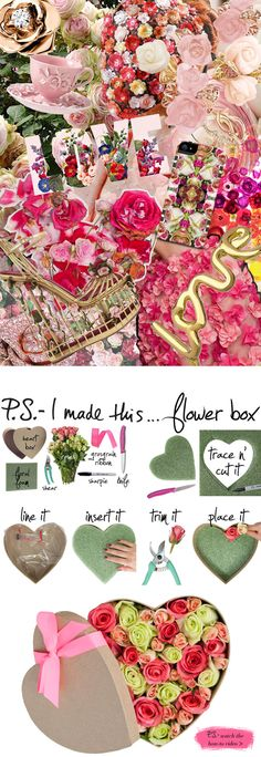 We <3 this flower box by @p.S.- I made this...! #PSIMADETHIS #DIY