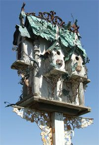 fairytale birdhouse