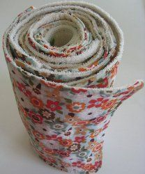 Rolled Kitchen Towels.  You can avoid using so many paper towels after trying out this kitchen towel craft.  Looks rather simple to make.  Great gift idea.