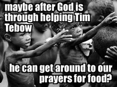 God's priorities.