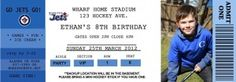 Ideas for a hockey themed birthday party-coming to the Caspers house this fall!