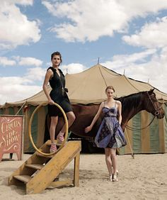 Anthropologie circus