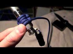 How to make a paracord flashlight wrap