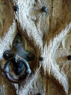 Old door knocker...