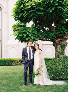 madeline + ryan | Madeline Gown from BHLDN (altered) | via: once wed | #BHLDNbride