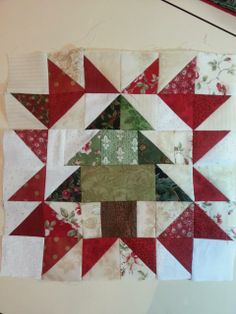 Lit and Laundry: Needlework Tuesday: Santa's Village Framed