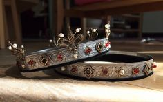 SCA coronets for a Baron and Baroness ~ This is a beautiful design!