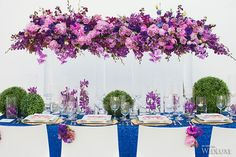 WedLuxe – Radiant Orchid | Photography by: Denise Lin Photography Follow @WedLuxe for more wedding inspiration!