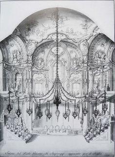 Palazzina di Caccia in Stupinigi - lampadario Salone da ballo