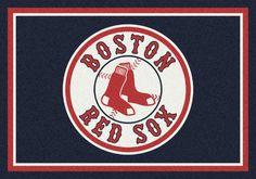 Boston #RedSox Logo Rug!  #WorldSeries Winner!