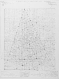 Minor Third Series: Fine Structure of Matter, 7.2.08 July, 2008 12 in x 10 in Graphite on rag paper