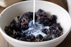 Blueberry and Almond Baked Steel Cut Oats {100% Overnight Prep with Lots of Variations}