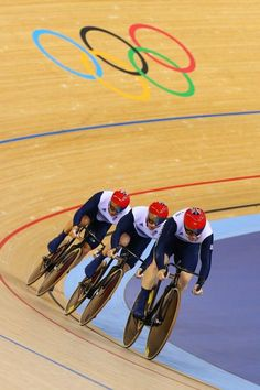 Olympic Cycling. London 2012 - Team GB