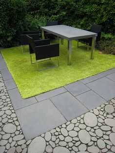 Love the pebble look pavers
