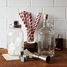 Create cocktails in style with these handsome bar tools by Brooklyn-based W + P Design. Inspired by vintage Americana, they're perfect for adding a hit of southern comfort to your home bar.
