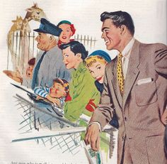 Quite the looker! :) #handsome #men #vintage #1940s #forties #ads #illustrations