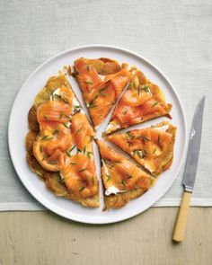 Potato Galette with Smoked Salmon for Easter brunch