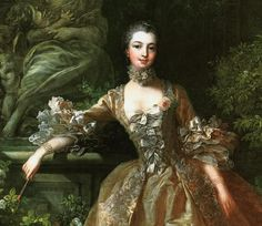 Mdme du Pomopadour paintyed byt François Boucher... ( 1703 –1770) was a French painter,a proponent of Rococo taste, known for his idyllic and voluptuous paintings on classical themes. He also painted several portraits of his illustrious patroness, Madame de Pompadour