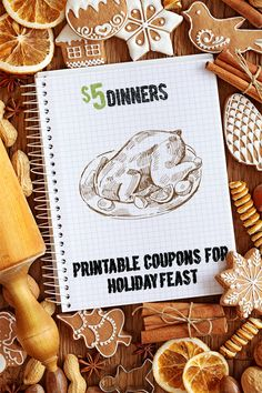 Save on Holiday Feast Ingredients with these Printable Coupons ~ updated frequently! | 5DollarDinners.com