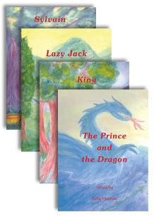 4 Introductory reader set by K. Morrow-beginner readers, early readers, Kelly Morrow, Morrow, stories, children