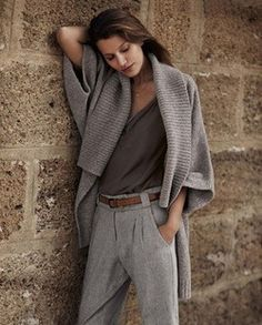 Gorgeous in gray. Classic. Chic. Timeless beauty.