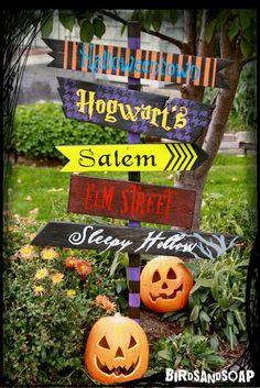DIY Furniture : DIY Halloween Yard Sign